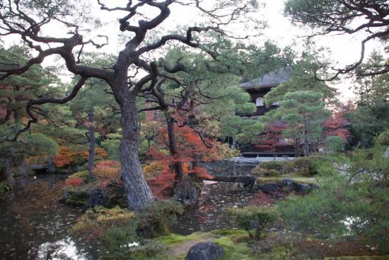 Jardin du pavillon d'argent - Kyoto