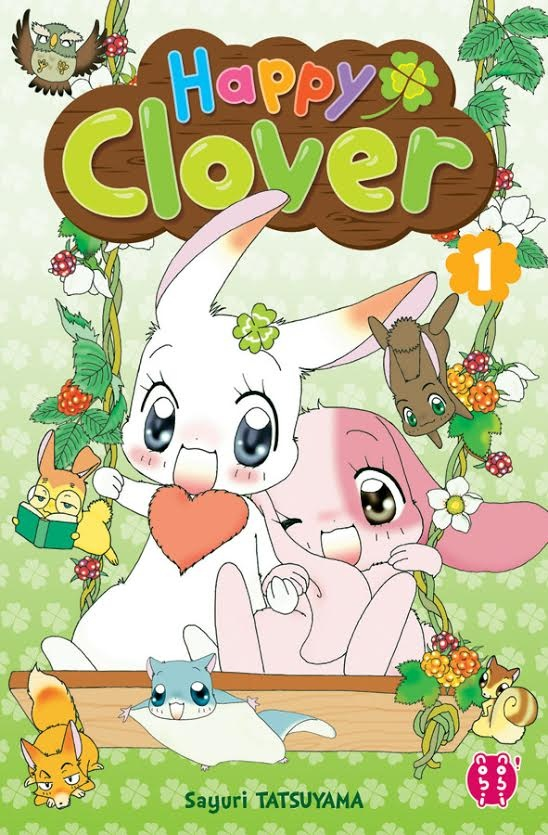 happy clover couverture du tome 1