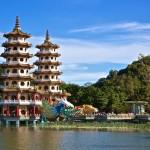pagodes tigre dragon kaohsiung