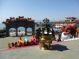 temple wen wu taipei vue lac