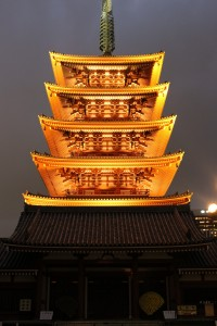 pagode senso-ji tokyo