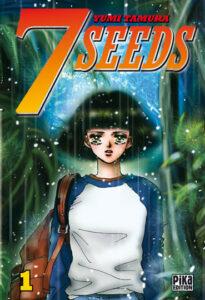 Couverture du premier tome de 7 seeds