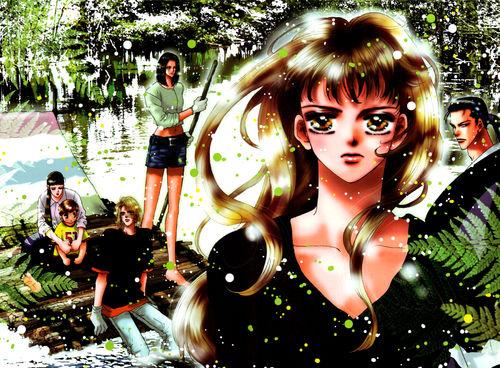 Hana et son équipe au milieu de la nature hostile