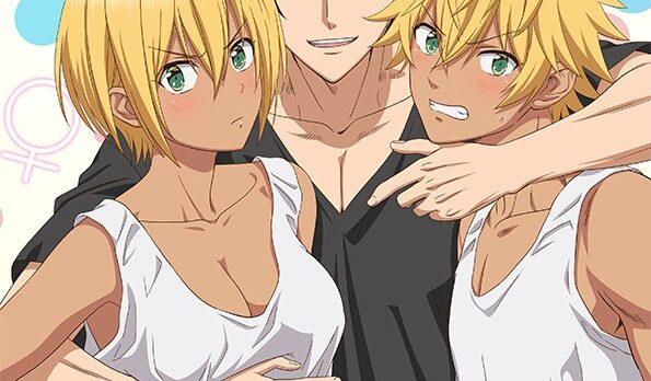 Affiche de l'anime Kuro Gal ni Natta kara Shinyuu to shitemita.