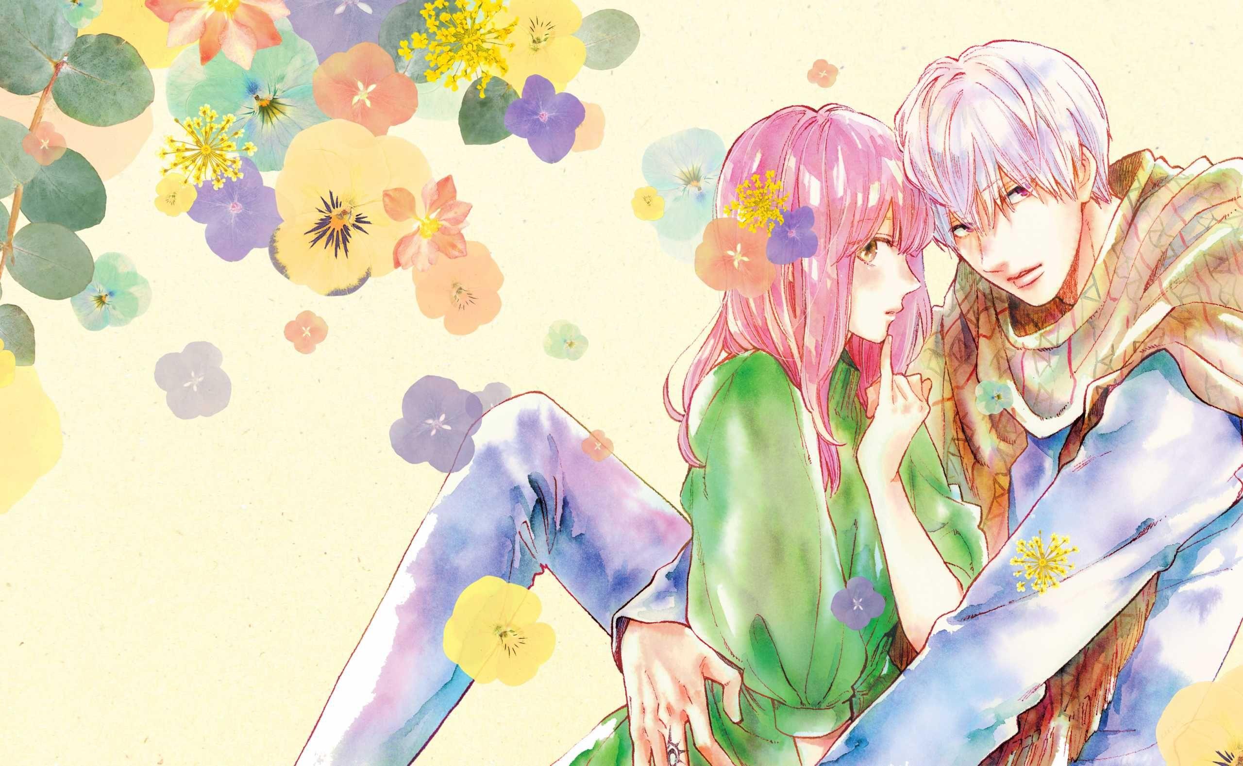Illustration du manga A sign of affection