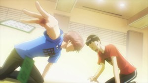 Taichi en plein tournoi de Karuta