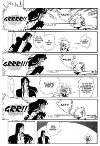 Chizumi et Fujiomi : case qui se répète plusieurs fois pour un effet comique reconnu