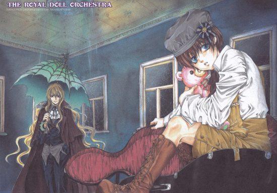 Illustration du manga The royal doll orchestra