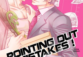 Pointing out mistakes ! manga