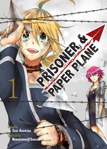 manga Prisoner and paper plane