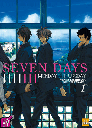 Manga Seven Days tome 1
