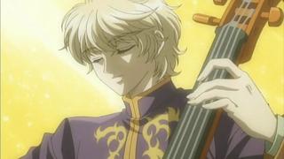 Keiichi jouant sérieusement du violoncelle (La Corda D'Oro)