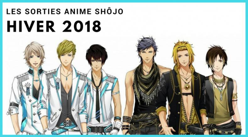 Groupe de bishonen de l'anime Miracle 6