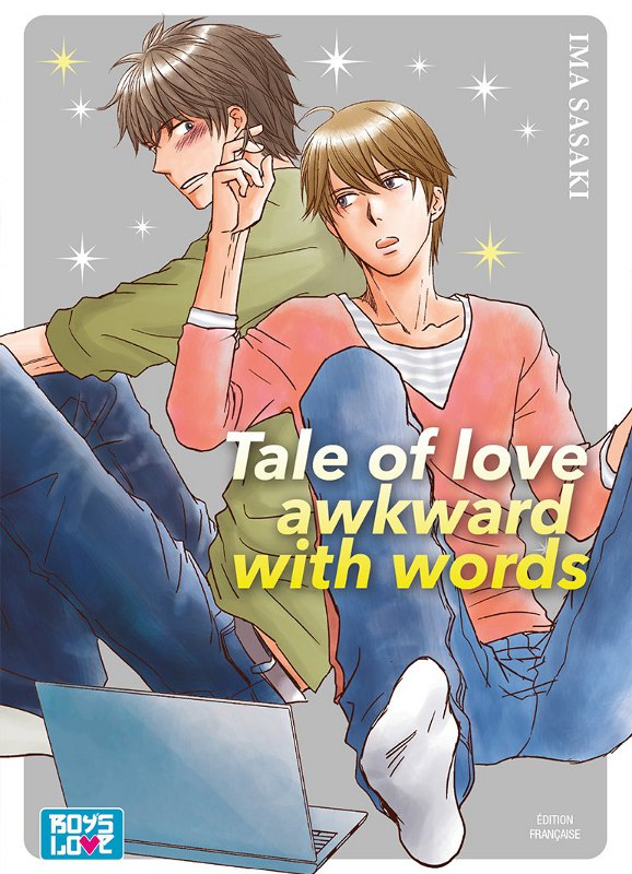 manga Tale of love awkward with words