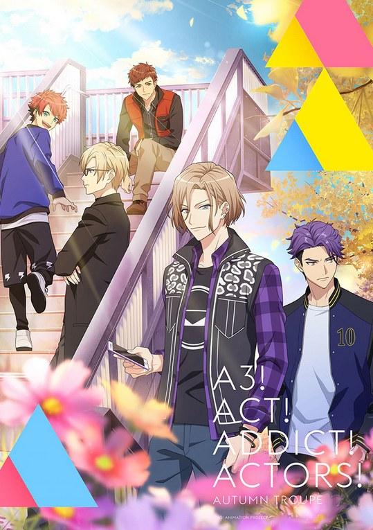 Affiche de l'anime A3! Season Autumn & Winter