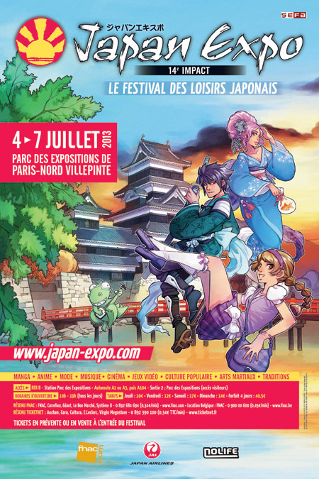 affiche Japan Expo 2013