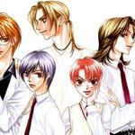 Nakao, Kayashima et d'autres bishies de Hana Kimi