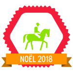 "Image du Badge ""Horse Riding (2082)"" fourni par Marc Serre, from The Noun Project sous Creative Commons - Attribution (CC BY 3.0)"