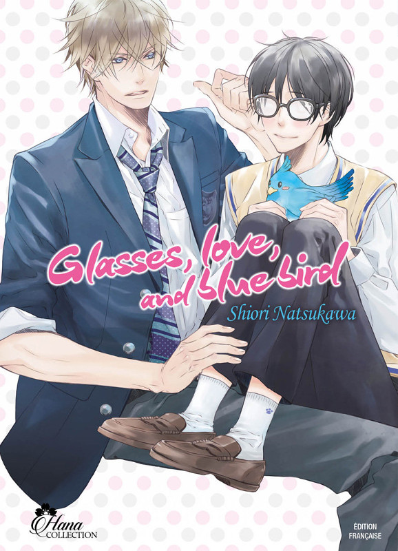 manga Glasses, Love, and Blue Bird