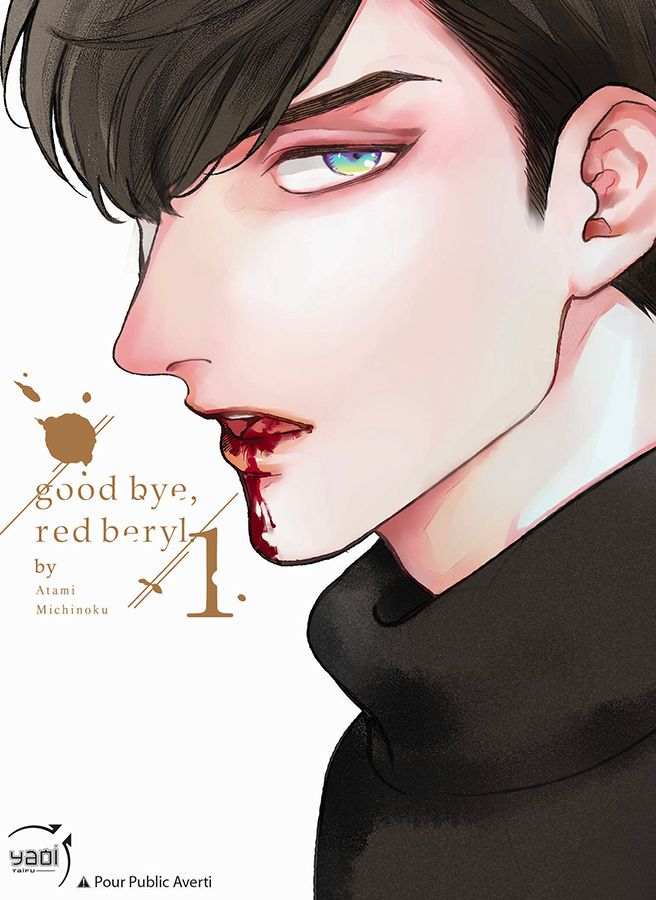 Couverture du yaoi Goodbye, Red Beryl
