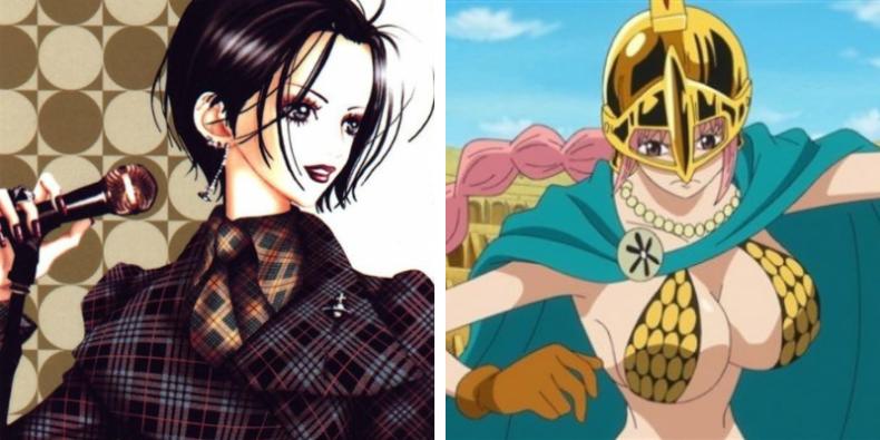 Les héroïnes de shôjo et de shônen