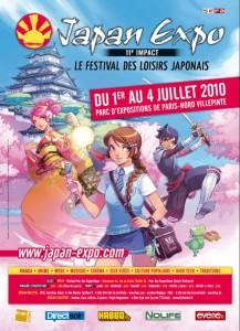 Affiche Japan Expo 11