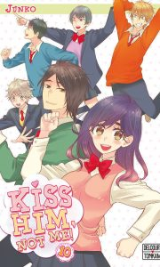 Kiss him, not me ! tome 10