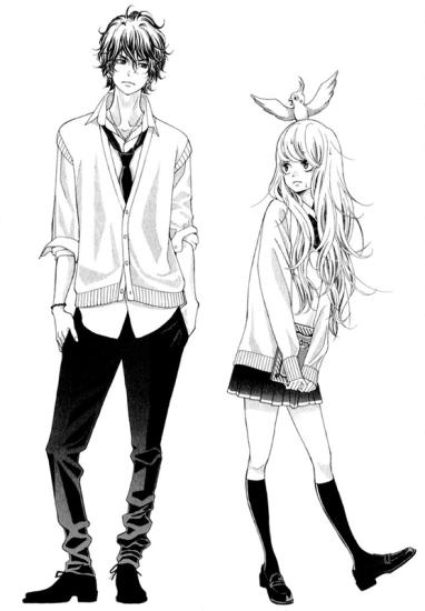 Kyou no Kira-kun personnages