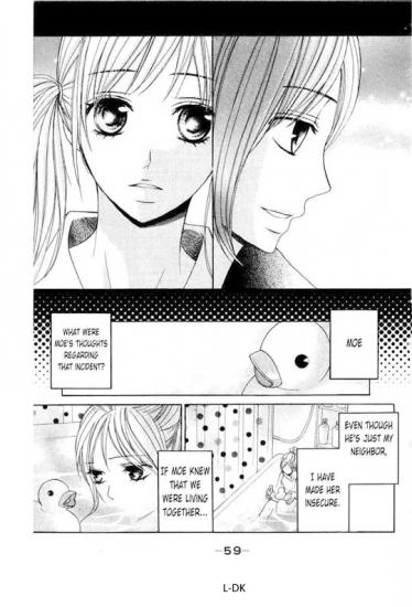 Extrait du manga L-DK