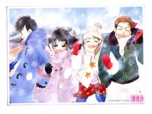 Illustration - manga Le Sablier