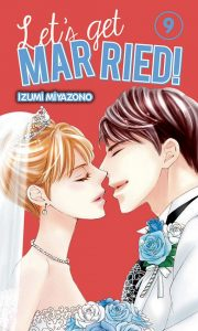 Couverture du tome 9 du shojo let's get married