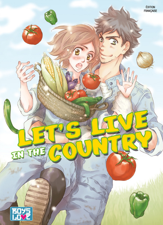 manga Let's live in the country