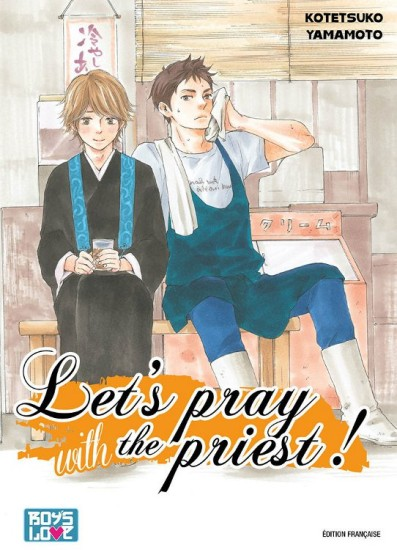 manga Let's pray the priest