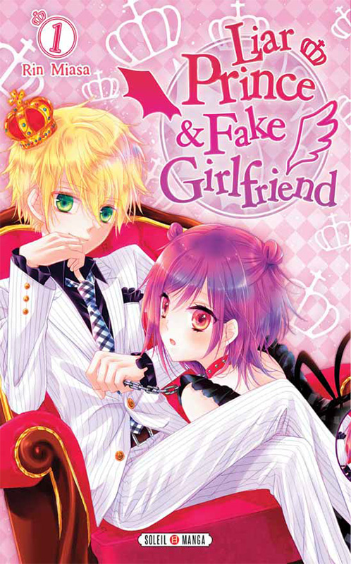 Liar Prince & Fake Girlfriend manga