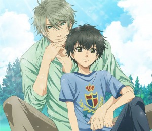 super lovers anime affiche