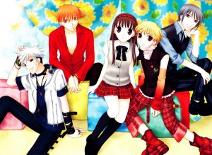 manga shojo fruits basket
