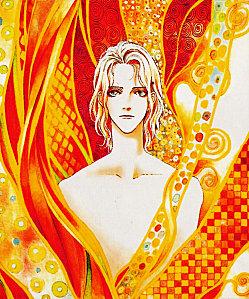 Scan couleurs du manga mars