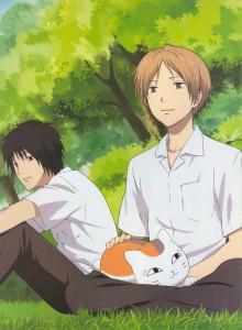 Natsume, Takuma et maitre Griffou
