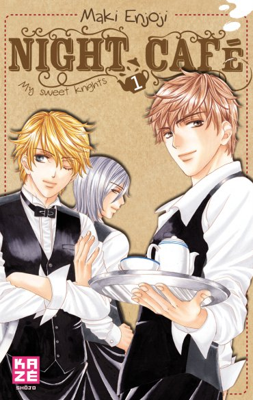 manga Night café - My sweet knights