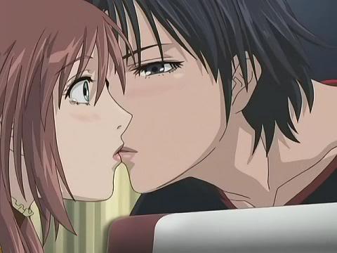 Takenaga et sa petite-amie Noi (Yamato Nadeshiko)