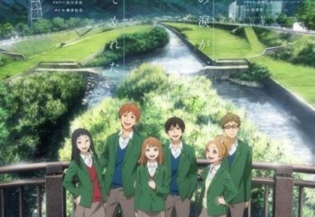 Affiche de l'anime orange