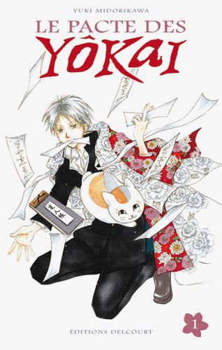 Manga le pacte des yokai Tome 1 Delcourt