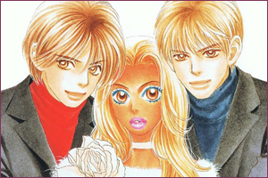 Trio du manga Peach girl