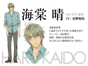 kaidô haru super lovers anime