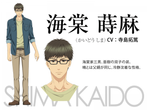 kaidô shima super lovers anime