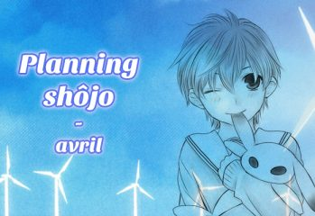 Planning shôjo - Avril 2018