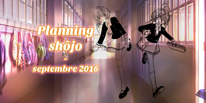 Planning shôjo septembre 2016