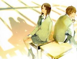 """Image de 4ème de couverture du manga illustrant le récit """"Proche horizon"""""""