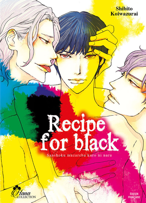 Recipe for black manga