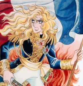 Oscar qui porte en elle l'âme de la Révolution française